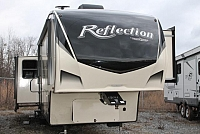 2019 Grand Design Reflection 337RLS 5th Wheel Camper Rear Living Auto Level 3 Slides 2 A/C's Fireplace Theater Seating 2 Awnings Side by Side Fridge Bluetooth Stereo Duncan SC