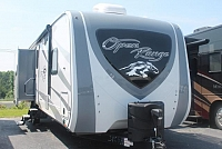 2018 Highland Ridge 310BHS Travel Trailer Bunkhouse Mega Lounge 4 Slides 2 A/C's Wardrobe Slide Residential Fridge Large Pantry Outside Kitchen 3 Year Limited Warranty Duncan SC