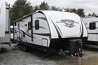 2018 Highland Ridge Open Range Ultra Lite 2802BH Travel Trailer Bunkhouse One Slide Queen Bed Limited 3 Year Warranty Outside Kitchen Duncan SC