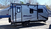 2018 Keystone Bullet Crossfire 1650ex 2 Queen Bed Fold Outs Concord NC