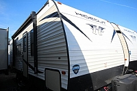 2018 Keystone Hideout 212LHS Rear Double Teddy Bear Bunks Booth Dinette Front Murphy Bed Over Leather Sofa Full Shower CONCORD NC