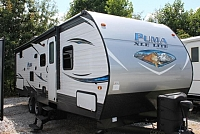 2019 Palomino Puma XLE 27RBQC Travel Trailer Bunkhouse 1 Slide Outside Kitchen w/Grill Outside Shower Under 6000lbs Duncan SC