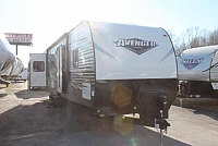 2018 Prime Time Avenger 32DEN Travel Trailer Rear Living 2 Slides Theater Seating including 2 Love Seats in Den Bluetooth Stereo Outside Storage and Shower Enclosed Underbelly LED Lights Duncan SC