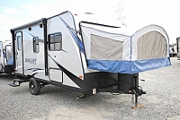 2018 Thor Keystone Bullet Crossfire 1650EX Lightweight Hybrid New Colors Outside Storage Easy to Pull CONCORD NC
