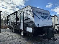 2018 Used Keystone Springdale 280BH Single Slide Bunkhouse Travel Trailer Duncan SC