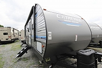 2019 Catalina Legacy Edition 323BHDS Rear Bunk House U-Shaped Dinette Jack Knife Sofa New Interior Modern Color Scheme Full Shower 2 Entries Solid Steps One Slide Large Outdoor Kitchen CONCORD NC