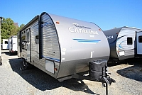 2019 Coachmen Catalina SBX 261BH Rear Double Bunks Rear Bath Full Shower Booth Dinette Front Queen Bed W/ Privacy Curtain CONCORD NC