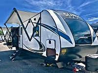 2019 Crossroads Sunset Trail Grand Reserve 33SI Triple Slide Rear Living Travel Trailer Duncan SC