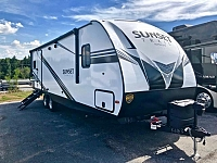 2019 Crossroads Sunset Trail Super Lite 251RK Single Slide Rear Kitchen Travel Trailer Duncan SC