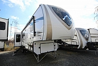 2019 Highland Ridge Mesa Ridge Fifth Wheel 371MBH Mid Loft Bunk Room 4 Slides King Bed Outside Kitchen Concord NC