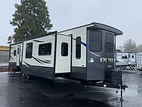 2019 Palomino Puma Destination 37PFL Triple Slide Front Livingroom Destination Trailer Duncan SC