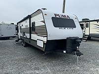2019 Palomino Puma XLE Lite 25RLC Lightweight Single Slide Rear Living Travel Trailer Duncan SC