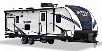 2018 CrossRoads Sunset Trail Super Lite SS262BH Double over Double Bunkhouse Outside Kitchen Concord NC