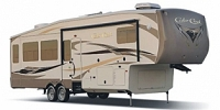 2013 Forest River Cedar Creek 36CKTS Triple Slide Luxury Fifth Wheel Concord NC