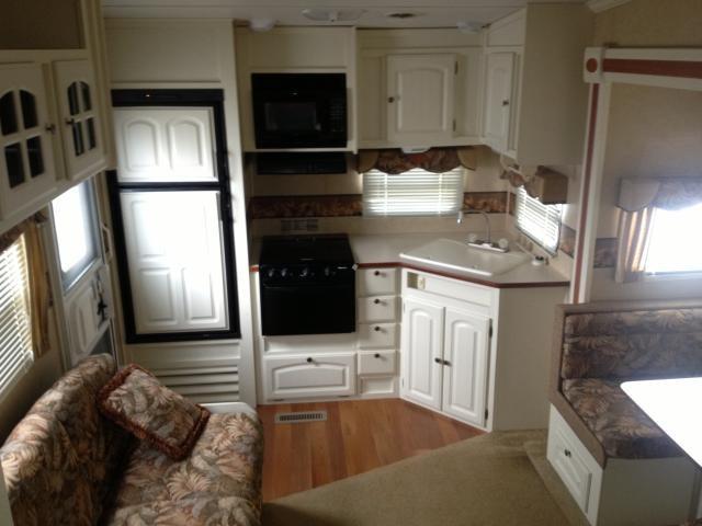 2008 Starcraft Aruba 245rgs Rear Kitchen Fifth Wheel Arctic Package Clean