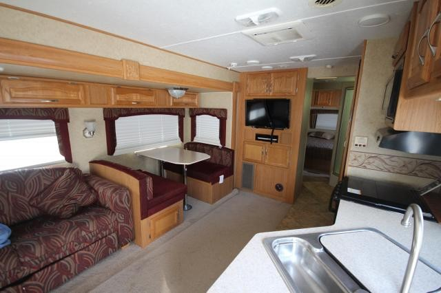 2009 Holiday Rambler Savoy LX 30RL Rear Living Swivel Chairs Booth Dinette One Slide 2nd Entry CONCORD NC