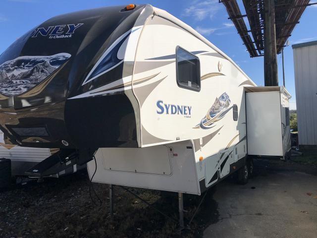 2013 Keystone Sydney 295FRL Triple Slide Rear Living Fifth Wheel Duncan SC