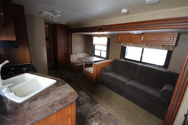 2014 Jayco Jayflight Swift 294B Rear Bunk House Booth Dinette Full Shower 1 Slide Nice Interior CONCORD NC