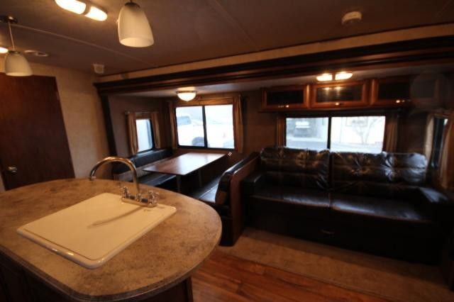 2015 Forest River Vibe 312BHS Triple Slide Bunk House