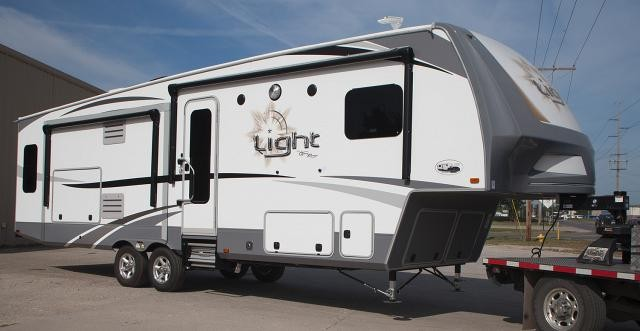 2017 Open Range Light 293RLS Triple Slide Half Ton Towable Fifth Wheel  Luxury 2 Yr. Warranty CONCORD NC