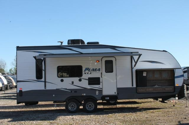 2019 Puma XLE 25TFC Travel Trailer Toy Hauler Outside ...