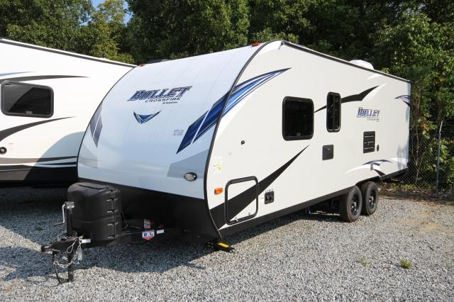 2018 Bullet Crossfire 2200BH Rear Teddy Bear Bunks Front Murphy Bed Tan Interior CONCORD NC