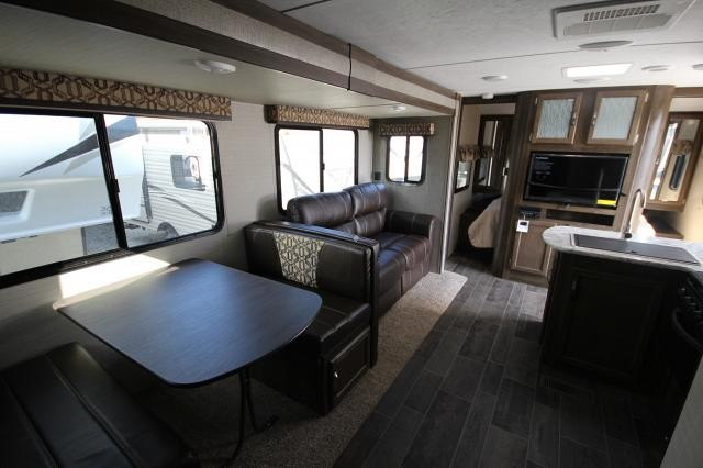 2018 Bullet Ultra Lite 287QBS Quad Bunk House W/ Dinette One Slide Outdoor Kitchen CONCORD NC