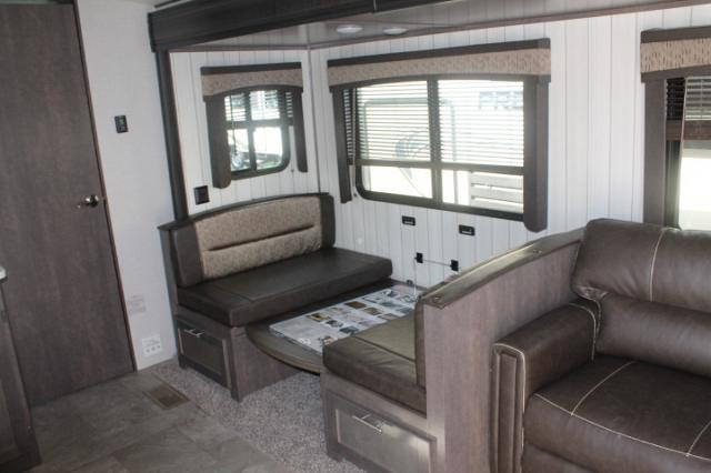 2018 CrossRoads Sunset Trail 253RB Travel Trailer Rear Bath New Decor 1 Slide Outside Kitchen Large Pantry Duncan SC