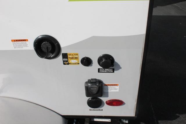 2018 Flagstaff E-Pro 12RK Lightweight Travel Trailer Rear Outside Kitchen Rooftop A/C w/Heat Strip TV WiFi Booster Duncan SC