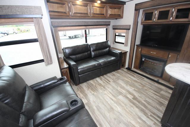 2018 Grand Design 315RLTS Rear Living Triple Slide High End w/ Washer Dryer Prep Full Electric Pkg. CONCORD NC