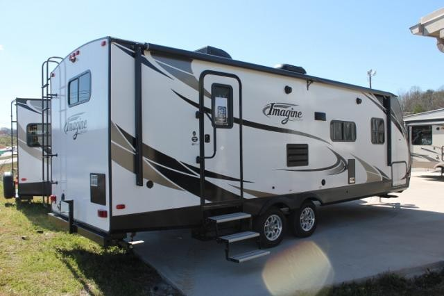 ... 2018 Grand Design Imagine 2600RB Travel Trailer Rear Bath 1 Slide  Theater Seating Large Bathroom Duncan ...