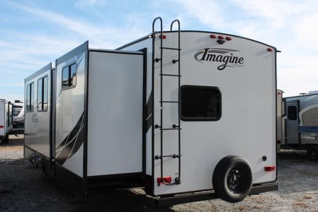 2018 Grand Design Imagine 3170BH Travel Trailer New Floor Plan Bunkhouse 2 Slides 2 A/C's Outside Kitchen Theater Seating 3 Year Limited Warranty Duncan SC