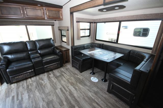 2018 grand design reflection 230rl rear living room for Living room with lots of seating