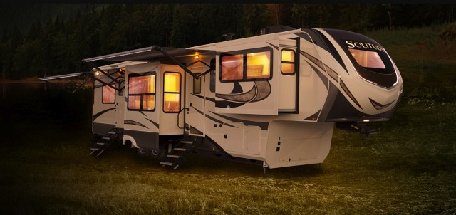 2018 Grand Design Solitude 379fls Front Living Theater