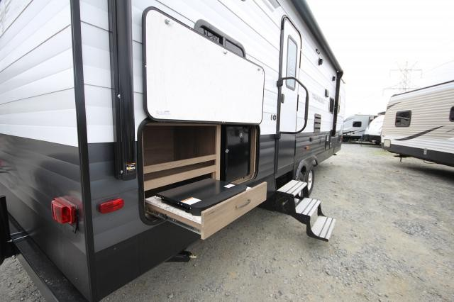 2018 Grand Design Transcend 27BHS Double over Double Bunkhouse Outside Kitchen One Slide Pet Friendly Aluminum Large Shower CONCORD NC
