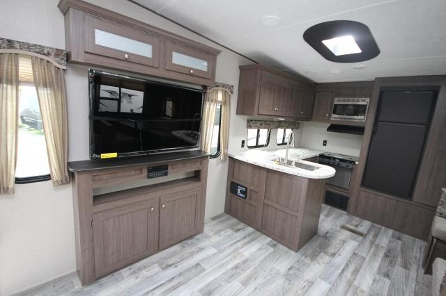 Elegant ... 2018 Hideout Fifth Wheel 292MLS Rear Kitchen Booth Dinette Theatre  Seating Nice Layout Outside Kitchen One ... Great Pictures