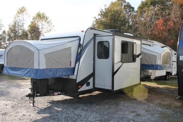 2018 Keystone Bullet Crossfire 2190EX Hybrid Travel Trailer 1 Slide 3 Pop Outs Full Galley Sleeps 10 Duncan SC