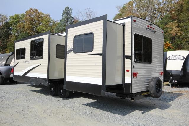 2018 Keystone Hideout 31FBDS Front Bunk House Rear Bedroom 2 Slides ...