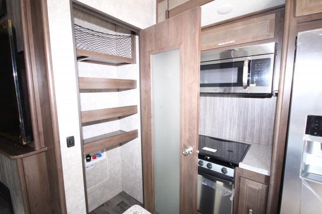 2018 Mesa Ridge Fifth Wheel 374BHS Rear Bunk House 4 Slides Outside Kitchen U-Lounge Fireplace Kitchen Island 1 1/2 Bath Nice Storage CONCORD NC