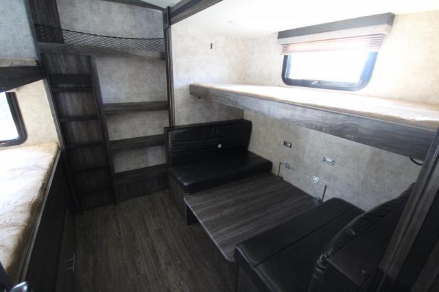 2018 Open Range Lite 312BHS Rear Bunk House W/ Table U-Lounge Fireplace Hidden TV Option Outside Kitchen 3 Slides CONCORD NC
