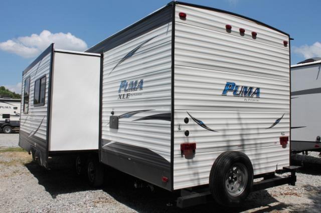2018 Palomino Puma XLE 27RBQC Travel Trailer Bunkhouse 1 Slide Outside Kitchen w/Grill Outside Shower Under 6000lbs Duncan SC