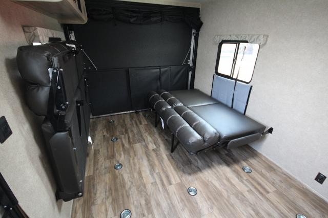 2019 Coachmen Catalina Toy Hauler 29TH Back Screen Porch Fold Down Sofas 1 Slide U-shaped Dinette Full Shower Fold Away Steps Sleeps Many CONCORD NC