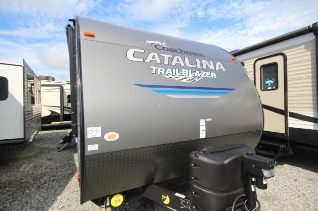 2019 Coachmen Catalina Trail Blazer 19TH Toy Hauler Party Deck 8