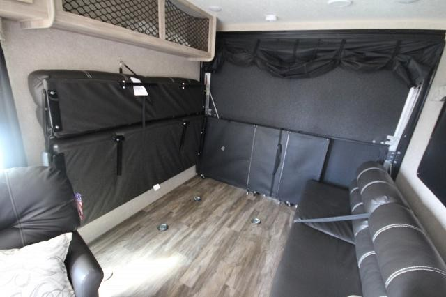 2019 Coachmen Catalina Trail Blazer 26TH Toy Hauler Party Deck Fold Down Sofas Bucket Chairs Corner Radius Shower Pull Down Solid Step Lightweight Easy To Tow Sleek Design CONCORD NC