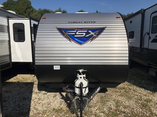 2019 Forest River Salem FSX 179DBK Lightweight Single Axle Bunkhouse Travel Trailer Duncan SC