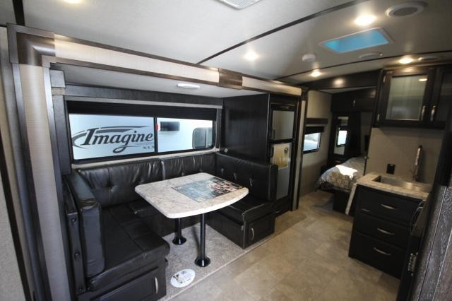 2019 Grand Design Imagine 2150RB Rear Bath Large Shower One Super Slide Chase Lounge Dinette Entertainment Center Queen Bed Sliding Doors Modern Design Pet Friendly CONCORD NC