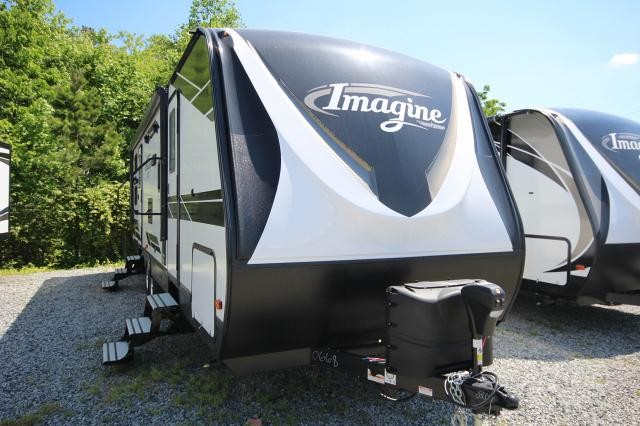 2019 Grand Design Imagine 2800BH Travel Trailer Double Over Double Bunk House Aluminum Entry Steps Pet Food Drawer Outside Kitchen CONCORD NC