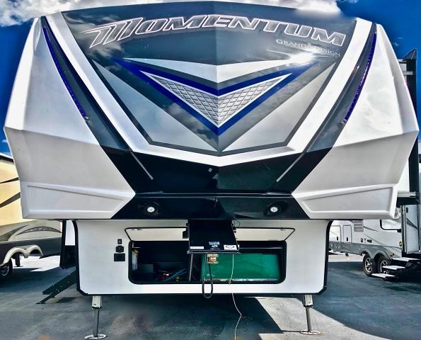 2019 Grand Design Momentum 395M Toy Hauler Fifth Wheel