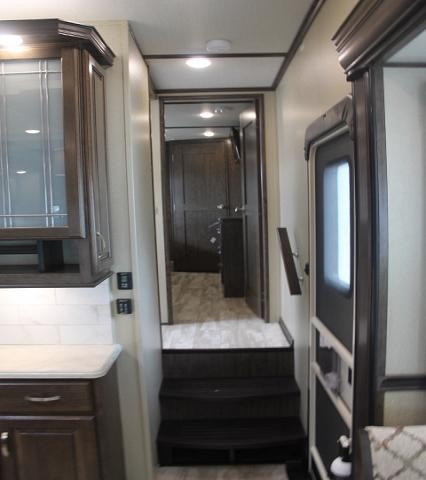 2019 Grand Design Solitude 310GK-R Luxury 5th Wheel Camper Rear Living Entertainment Center w/Fireplace Residential Fridge 3 Slides 2 A/C's W/D Prep King Bed Auto Level 3 Year Limited Warranty Duncan SC