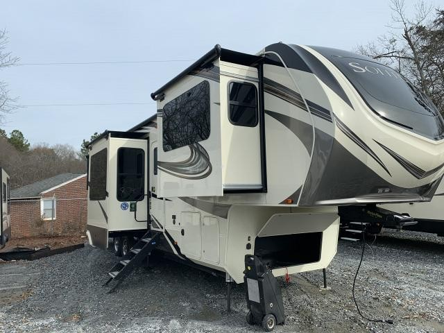 2019 Grand Design Solitude 380FL-R Five Slide Front Living Luxury Fifth Wheel Duncan SC